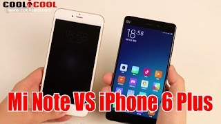 mi note vs iphone 6 plus hands on review xiaomi new flagship xiaomi note