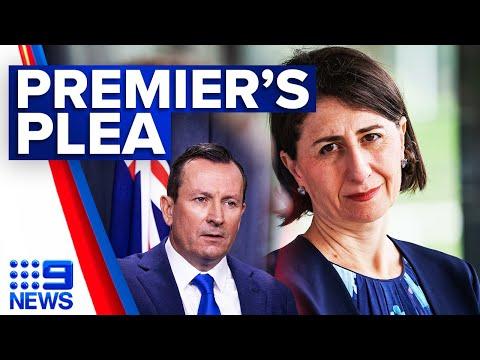 Coronavirus: NSW Premier hits back at WA Premier | 9 News Australia thumbnail