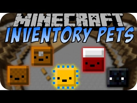 Minecraft INVENTORY PETS MOD (Part 2) [Deutsch]