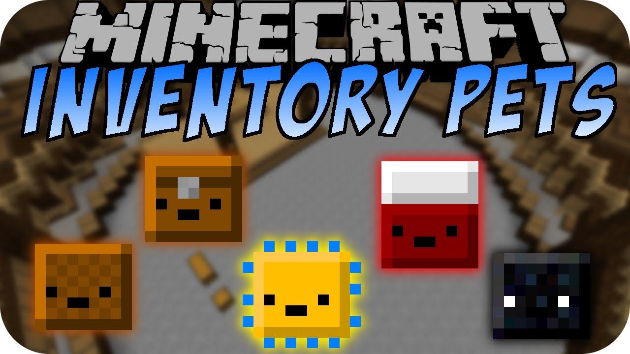 Minecraft INVENTORY PETS MOD (Part 2) [Deutsch] - YouTube