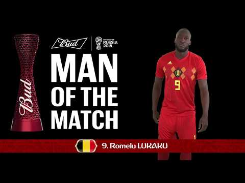 Romelu LUKAKU (Belgium) - Man of the Match - MATCH 13