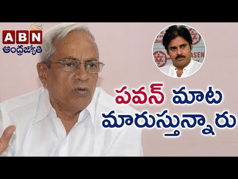 CPM Madhu Over Pawan Kalyan Double Game On AP Special Status  Face To Face  ABN Telugu