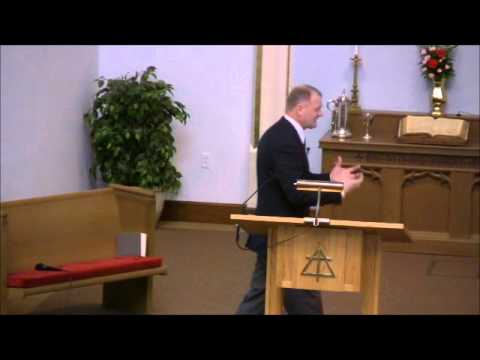 Lafayette Christian Reformed Church Service - 1/22/2012