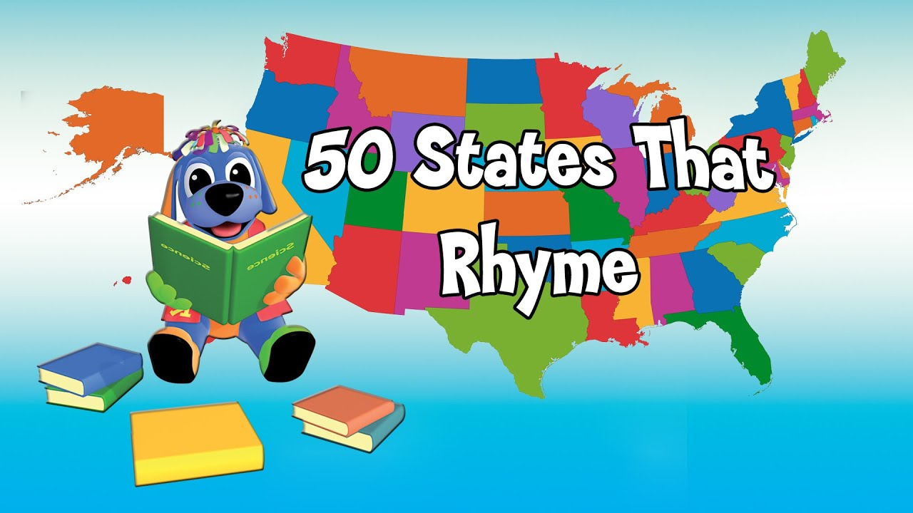 Nursery Rhymes and Kids Songs - 50 States That Rhyme Song - Raggs TV ...