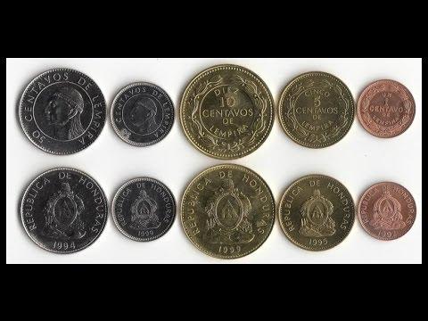 Moneda De Plata De Honduras Bamba