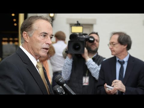 Watch Live: New York Rep. Chris Collins speaks after charged with insider trading