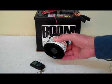 Reggae Air Horn Sounds Musical Car Horn Wireless