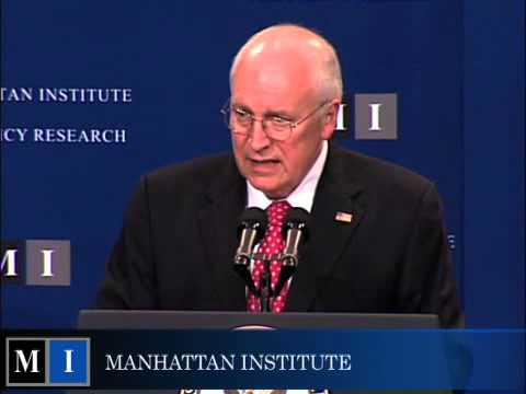 Manhattan Institute Forum. Speaker: Vice President Dick Cheney