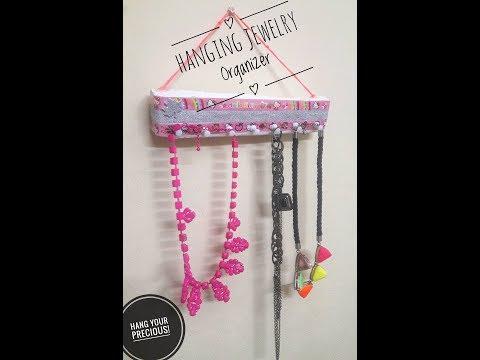 DIY Jewelry Organizer/ Best out of Waste Neckpiece Holder /Jewelry Organizer