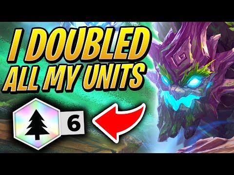 I DOUBLED ALL MY UNITS - 6 WOODLAND SYNERGY! | TFT | Teamfight Tactics Set 2 | League of Legends AC
