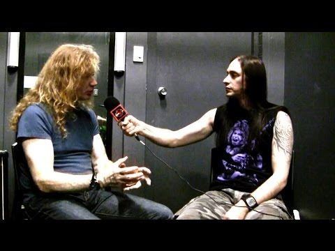 "MEGADETH Dave Mustaine On Bands & Technology ""Don't cheat, don't be lazy'"" 2015"