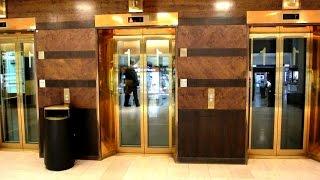 2005 KONE MiniSpace fast traction elevators @ Stockmann department store, Helsinki, Finland