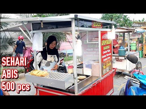 CUMA 2RB ??? MURAH BANGET YAH ??? JAKARTA STREET FOOD - KULINER INDONESIA