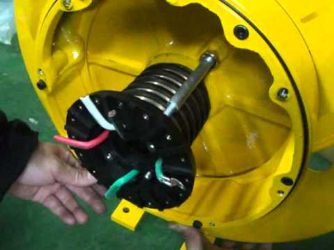 KYEC Spring Cable Reel Installation