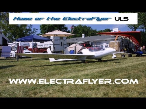 Electraflyer ULS, Electric Powered Ultralight Motor Glider From ElectraFlyer.