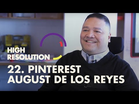 #22: Pinterest Head of Design, August De Los Reyes, on ending disability through better design