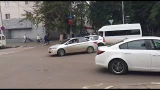 На улице Рахова водители остаются заложниками энергетиков