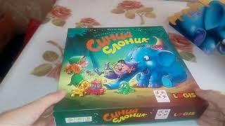 Большой обзор настольных игр для малышей.