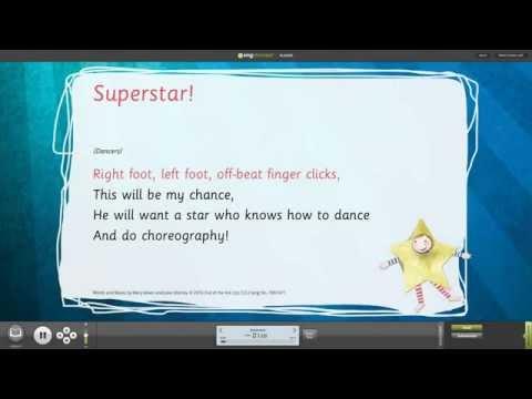Superstar! [Superstar] - Words on Screen™ v2 Sample