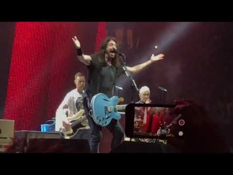Foo Fighters - Jump ( Van Halen Cover) @ Madison Square Garden 7-16-2018