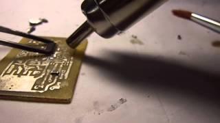 пайка с помощью  паяльного фена совместно с паяльной станцией LUKEY 702(, 2013-06-18T12:21:26.000Z)