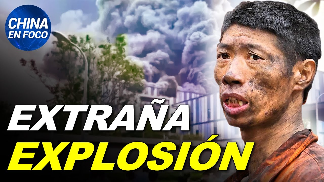 Enorme explosión e incendio en laboratorio de Huawei. Jesús es pecador según el PCCh  China en Foco