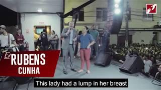 Jesus healed lump in breast!