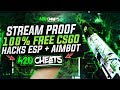100% STREAM PROOF FREE UNDETECTED CSGO HACKS! [WORKING JULY 2018 - PANORAMA]