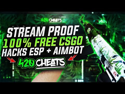 100% STREAM PROOF FREE UNDETECTED CSGO HACKS! [WORKING APRIL 2018]