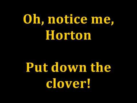 """Notice Me, Horton"" from Seussical karaoke/instrumental"