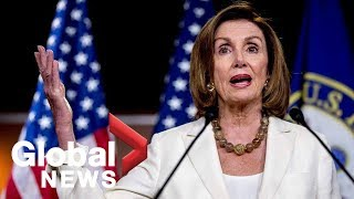 "Pelosi: Trump's attacks on four congresswoman ""inappropriate"" and ""disgusting"""
