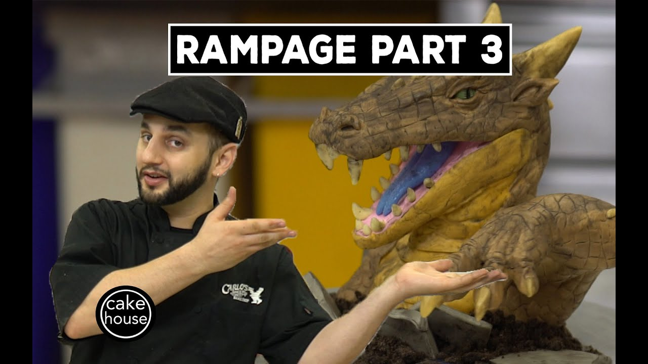 ralph cake boss ralph from cake sculpts a rampage reptile part 3 3 6955