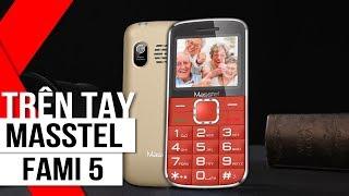 FPT Shop - Trên tay Masstel Fami 5: Điện thoại dành cho người lớn tuổi