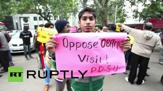 """India: """"Obama get lost!"""" India"""