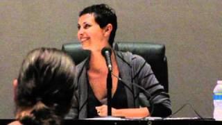 Morena Baccarin - Women of Scifi Con 2011
