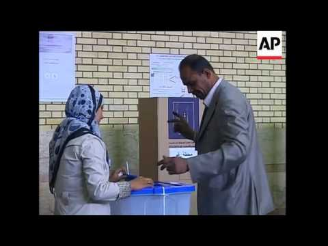 Iraqi expats vote in their country''s national elections