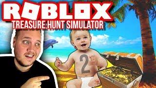 GÅR EFTER ANDEN REBIRTH! :: Treasure Hunt Simulator Ep. 6  - Dansk Roblox