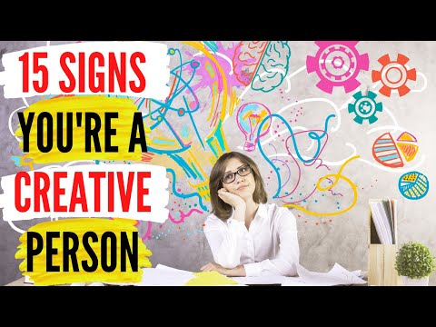 15 Signs You're A Creative Person | Smartastic