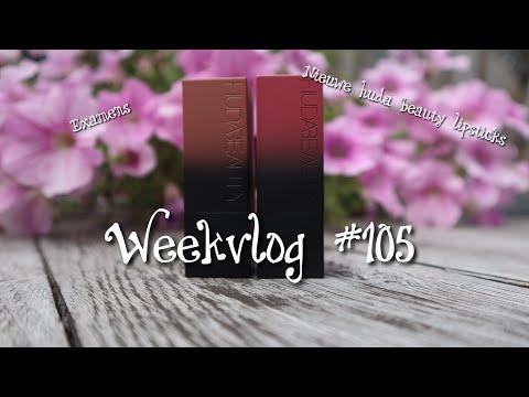 examens & naar de dierenarts & nieuwe lipsticks van Huda Beauty weekvlog #105 |chimene|❤️✨