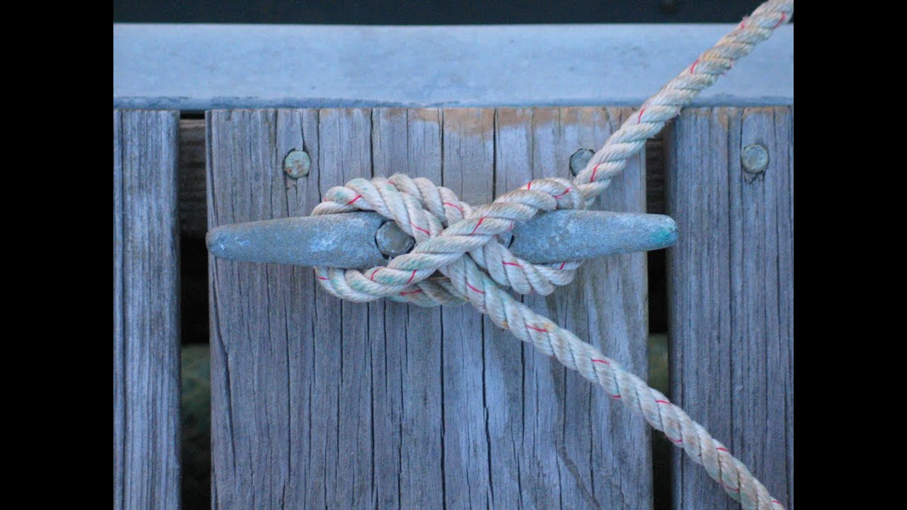 How to tie up your boat using cleats dock like a pro youtube ccuart Images