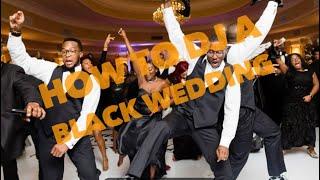 DJ Gig log| How To DJ A BLACK WEDDING |Ceremony Setup|Moving Heads