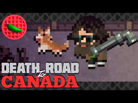 ZOMBIE DOG DAYS! -- Let's Play Death Road to Canada (Local Co-op)(Steam PC Gameplay)