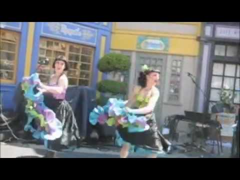 Universal Studios French CanCan Show