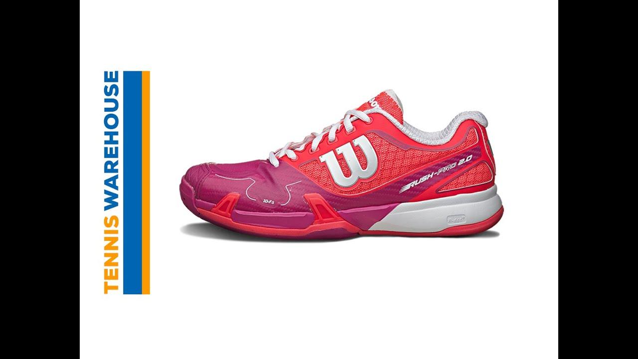 0f584877107 Wilson Rush Pro 2.0 Women s Shoe Review - YouTube