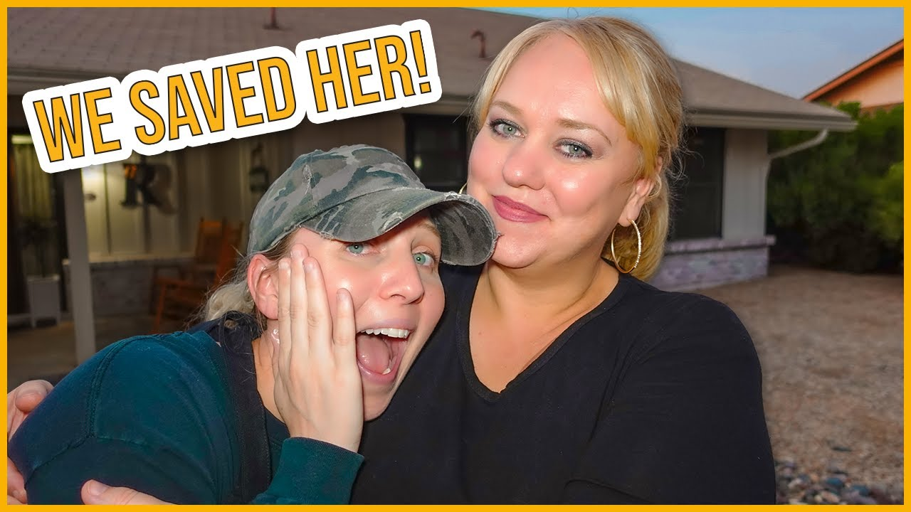 We Saved Her Life!   It Was In The House!