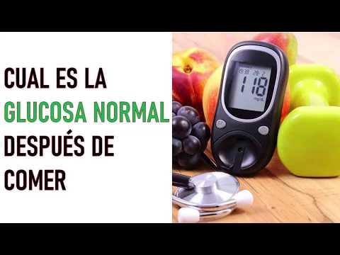 ¿CUAL ES LA GLUCOSA NORMAL DESPUÉS DE COMER? | Cual Es La Glucosa Normal En La Sangre?