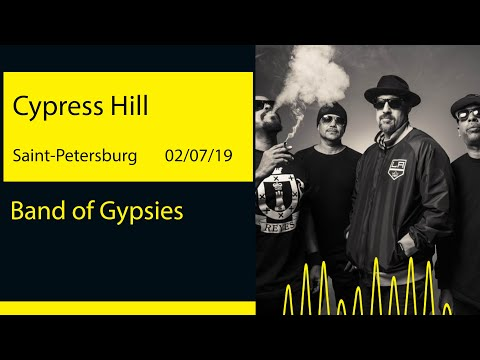 Cypress Hill - Band of Gypsies (A2 Green Concert '19@Saint-Petersburg)