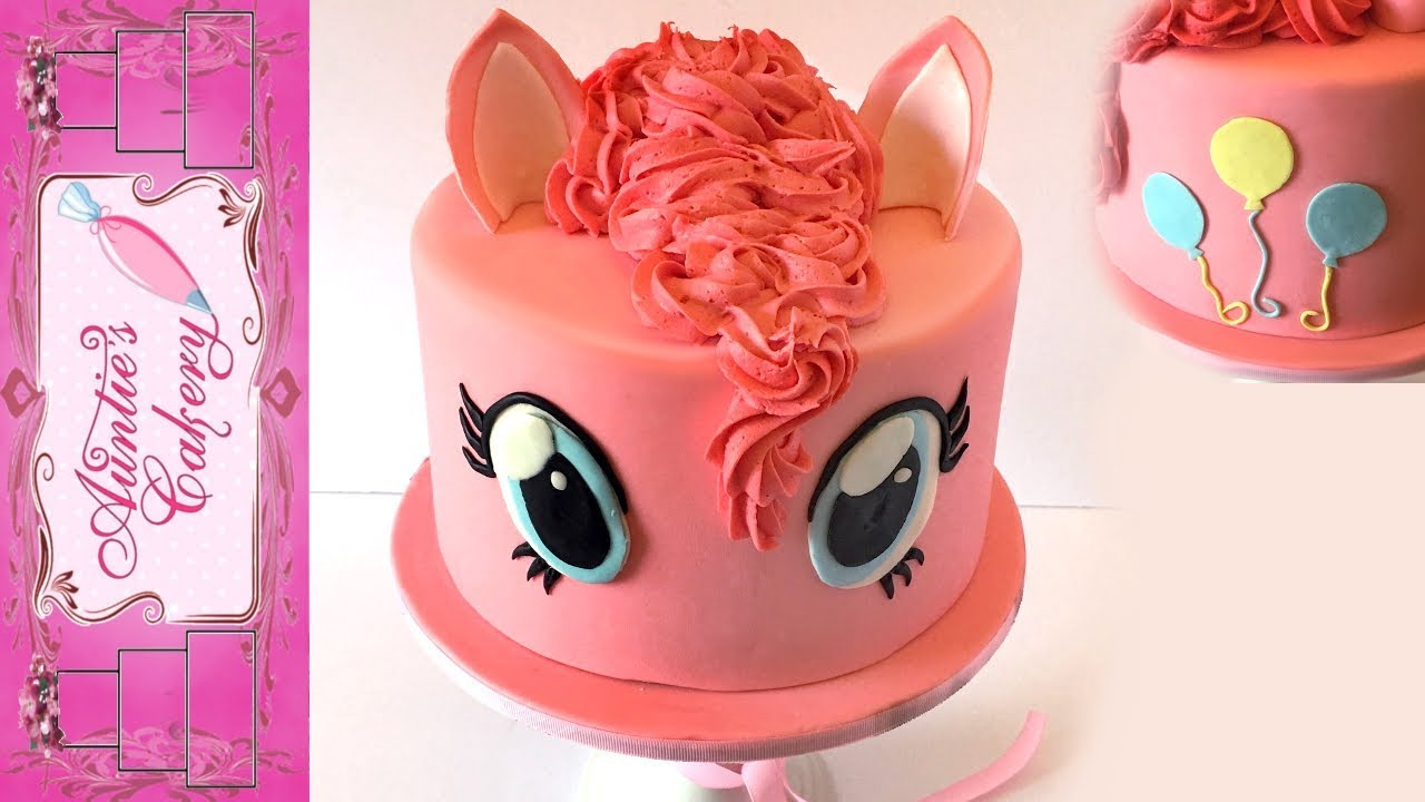 Pinky Pie My Little Pony Cake Tutorial