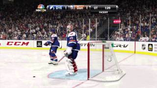 NHL® 15 game that lead to 8 round danglefest shootout. All defense watch the trap Thumbnail