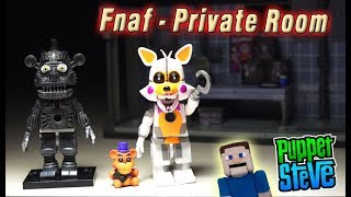 Five Nights at Freddy's FnaF PRIVATE ROOM Wave 4 McFarlane Toys Lolbit Yenndo Playset Unboxing thumbnail
